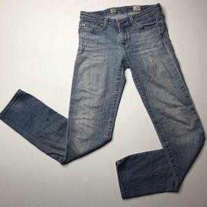 Ag Adriano Goldschmied Jeans - AG • The Stilt Cigarette Leg / 18y Stone Wash